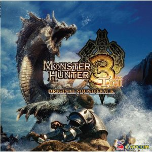 Das westliche Cover des Monster Hunter 3-Soundtracks