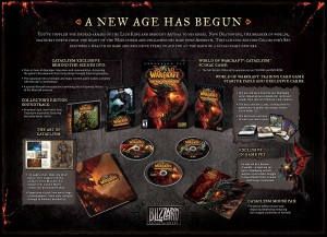 Der Inhalt der Collector&#039;s Edition zu World of Warcraft: Cataclysm
