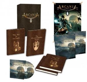Inhalt der Sammleredition von Arcania: Gothic 4