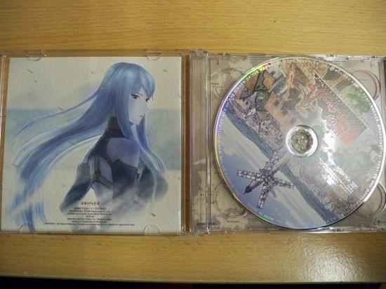 VC, Booklet-Rückseite und CD 1