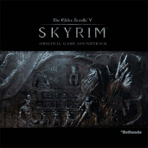 Alben-Cover des Skyrim OSTs
