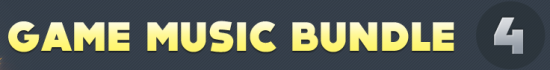 Game Music Bundle 4-Schriftzug