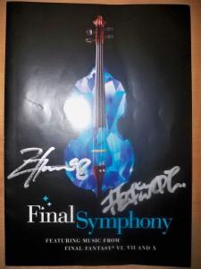 Final Symphony Programmcover